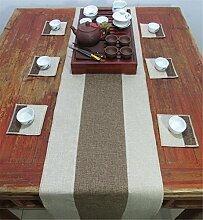 Sucastle® 35X200cm Leinen Tischläufer Hochzeit