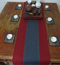 Sucastle® 35x240cm Leinen Tischläufer Hochzeit