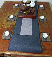 Sucastle® 35x280cm Leinen Tischläufer Hochzeit