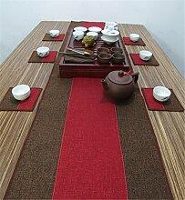 Sucastle® 35x350cm Leinen Tischläufer Hochzeit
