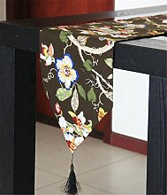 Sucastle® Baumwolle 33x120cm Tischläufer