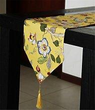 Sucastle® Baumwolle 33x180cm Tischläufer