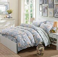 Sucastle Bettwäsche 2057 Art und Weise neues Li-Typ Bett Bad Baumwolle Bett-Unternehmen eine vierköpfige Familie Sucastle:Größe:220*240