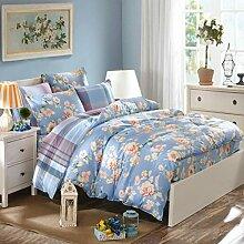 Sucastle Bettwäsche 2065 Art und Weise neues Li-Typ Bett Bad Baumwolle Bett-Unternehmen eine vierköpfige Familie Sucastle:Größe:220*240