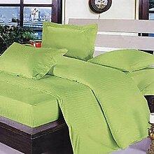 Sucastle Bettwäsche einfache solide Farbe eine