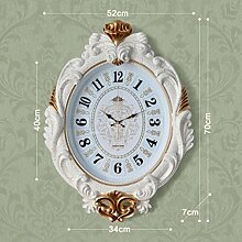 Sucastle Continental Palace, upscale, Wohnzimmer, Wanduhr, Kreative (ohne Batterie) GXCF