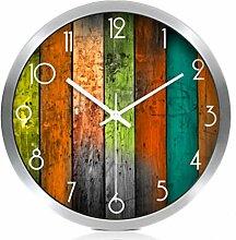 Sucastle Continental, Uhren, Shi Yingzhong, kreativ, stumm, Wanduhr, Wohnzimmer, Mode, Uhr, auf dem Land, Wandtafeln, Wanduhr, WYFC