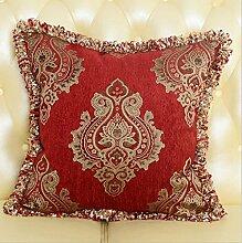 Sucastle Home Auto Bett Sofa dekorativeKissen Kissenbezug Chenille 45*45cm