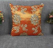 Sucastle Home Auto Bett Sofa dekorativeKissen Kissenbezug Seide 45*45cm