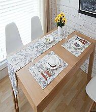 Sucastle® Leinen 30x200cm Tischläufer Hochzeit