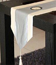 Sucastle® Polyester 33x130cm Tischläufer
