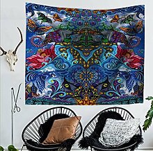Sucastle Tapisserie Wandteppiche Hippie-Tapisserie Indian Wandbehang Decke Picknickdecke Tagesdecke Vorhang Decor Polyester 200cm*150cm