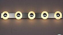 Sucatle LED Spiegel vorne Licht Bad Wandleuchte