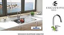 SUCCSALE- Desigenr- Küchenarmatur-Klappbare
