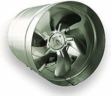 SUCCSALE - Hochwertiger AirRoxy Axialer Rohrventilator Ø 160 mm 185m³/h Rohrlüfter Lüfter Hochdruck Ventilator Abluft Gebläse Metall Radialventilator
