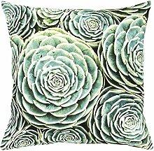 Succulent Cover Cushion Kissenbezug Pad