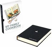 Suck Uk - My Family Cook Book, schwarz