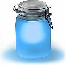 "SUCK UK Solarleuchte ""Sun Jar"" – blau"