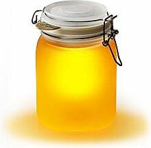 "SUCK UK Solarleuchte ""Sun Jar"" – gelb"