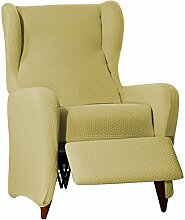 Sucre Sofa Überwurf Relaxsessel Fb. 01-beige