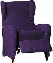 Sucre Sofa Überwurf Relaxsessel Fb. 02-viole