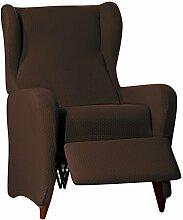 Sucre Sofa Überwurf Relaxsessel Fb. 07-braun