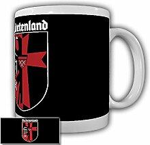 Sudetenland Sudeten Wappen Abzeichen Sudetendeutsche Adler Emblem Deutschland Tschechien Sudety Sudetenländer - Tasse Kaffee Becher #15503