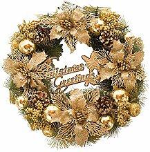 Sue Supply Weihnachtskranz Goldene Dekoration
