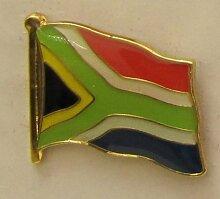 Süd Afrika Pin Anstecker Flagge Fahne