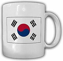 Südkorea Fahne Flagge Republik Korea Daehan Minguk - Kaffee Becher Tasse #13660