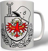 Südtirol Schwert Schild Helm Süd Tirol Italien