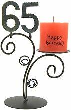SünGross Leuchter Happy Birthday (65. Geburtstag)