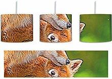süße kuschelnden Füchse inkl. Lampenfassung
