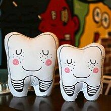 Süße Plüsch Kissen Zahn Kissen Geschenke