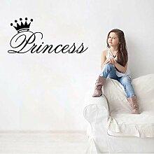 Süße Prinzessin Krone Wohnkultur PVC