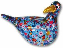 Süße Spardose ~ Möwe - hellblau mit Käfern ~ Pomme Pidou Vogel Sparbüchse Geldgeschenk Geschenk