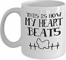 Süße Tasse - so schlägt mein Herz Kaffee &