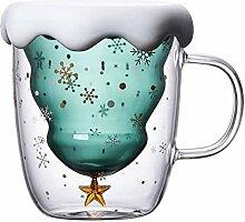 Süße Tassen Weihnachten Becher Kaffee Teegläser