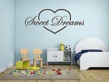 Süße Träume in Herz 115 Cm Breit X 49 Cm