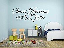 Süße Träume mit Herzen 110 Cm Breit X 45 CMS