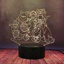 Süßes kreatives Geschenk Nachtlampe Winnie Puuh