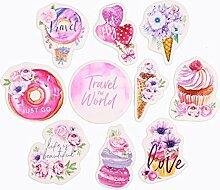 Süßigkeiten Koffer-Aufkleber, Planer Sticker