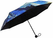sufely® Creative Faltbarer Regenschirm & Malerei