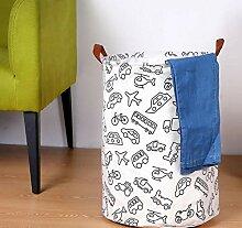 sufengshop Faltbarer Wäschekorb für Spielzeug