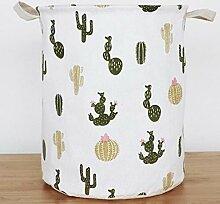 sufengshop Wäschekorb Feigenkaktus Kaktus