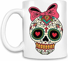 Sugar skull Kaffee Becher
