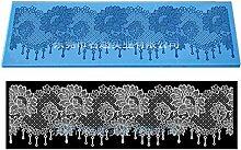 Sugarcraft Flower Silikon Lace Mold Fondant Mold
