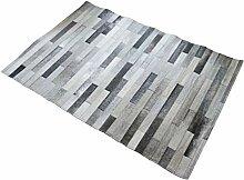 Suggaloaf Patchwork Teppich aus grauem