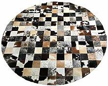 Suggaloaf Runder Kuhfellteppich - ca. 150 cm -
