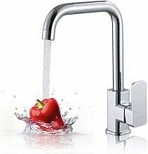 SUHANG Alle Messing Main Küche Wasserhahn Warmes Und Kaltes Gericht Waschtisch Armatur Waschbecken Aus Edelstahl Wasserhahn Schwenken
